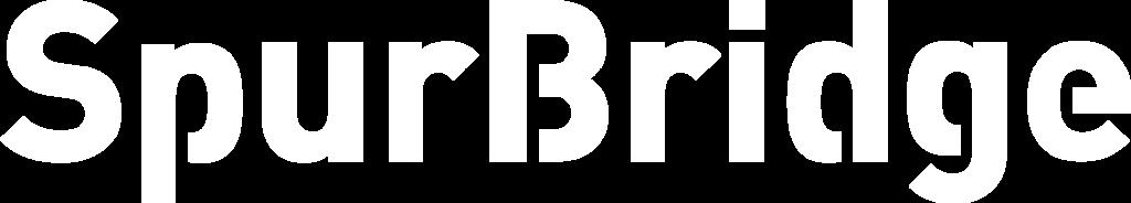 spurbridge logo in white